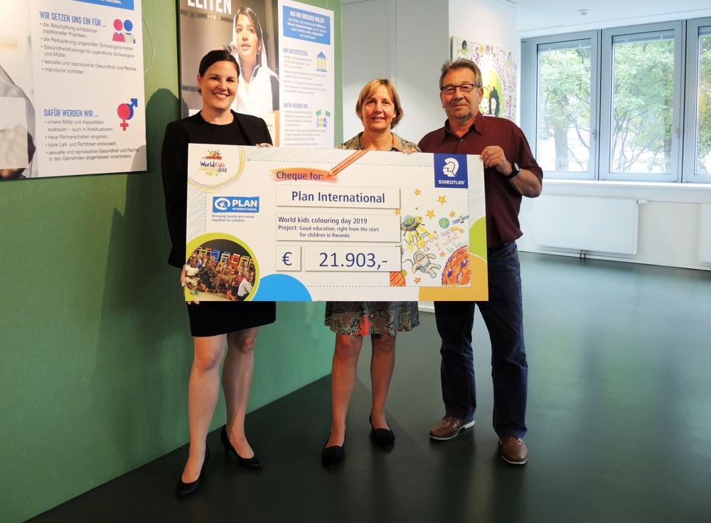 Staedtler: Spendenaktion zum Weltkindermaltag 2019