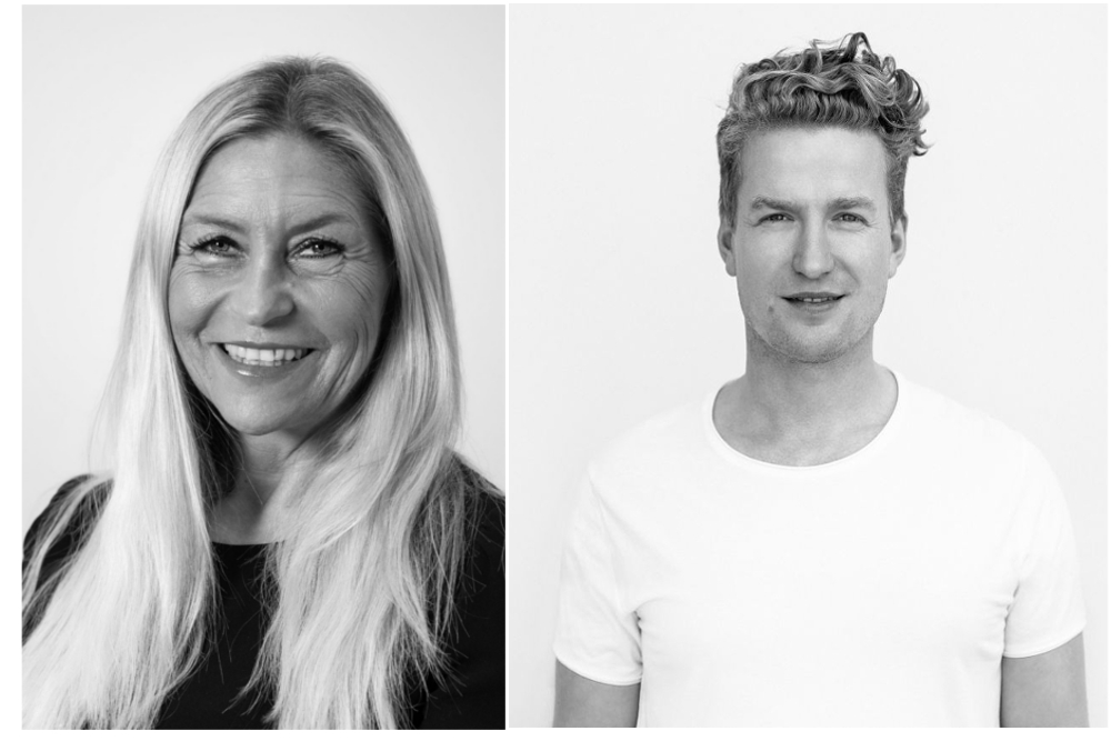 Adriana Nuneva, Chief Digital Officer bei CWS, und Stefan Michaelis, CEO bei Jonny Fresh. Abbildung: CWS.