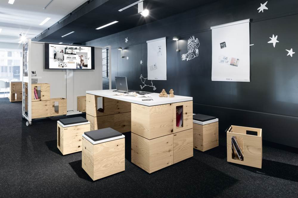 Bene-Idea-Lab in Wien. Abbildung: Bene