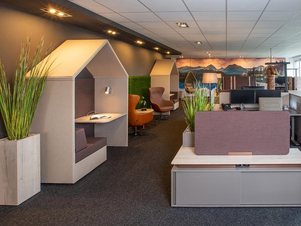 Rückzugsort und Platz für informelle Kommunikation. Abbildung: Febrü