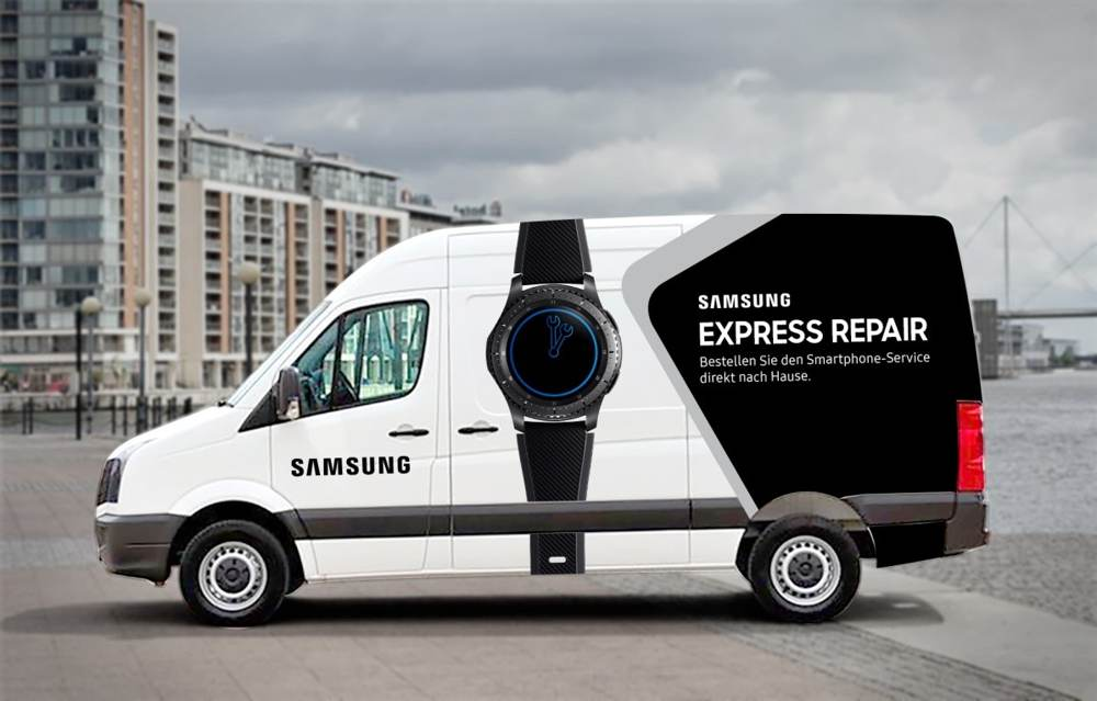 Samsung: Mobiler Reparaturservice