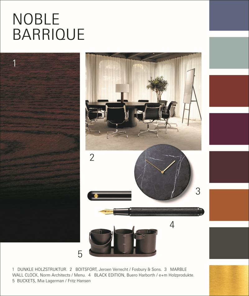 Der PBS-Trend Noble Barrique stellt hochwertige, langlebige Produkte in den Mittelpunkt. Abbildung: Messe Frankfurt