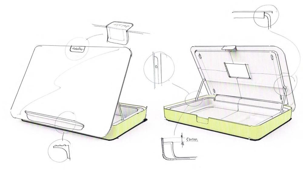 Addit Bento von Dataflex als Designstudie. Abbildung: Dataflex