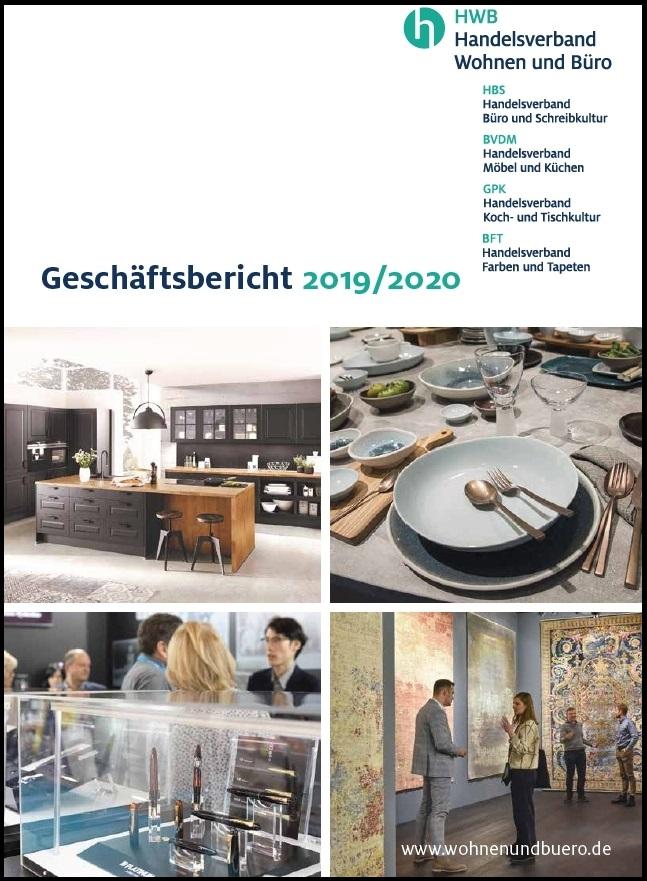 Im Geschäftsbericht 2019/2020 des Handelsverband Wohnen und Büro verzeichnet der HBS ein positives Ergebnis für 2018.