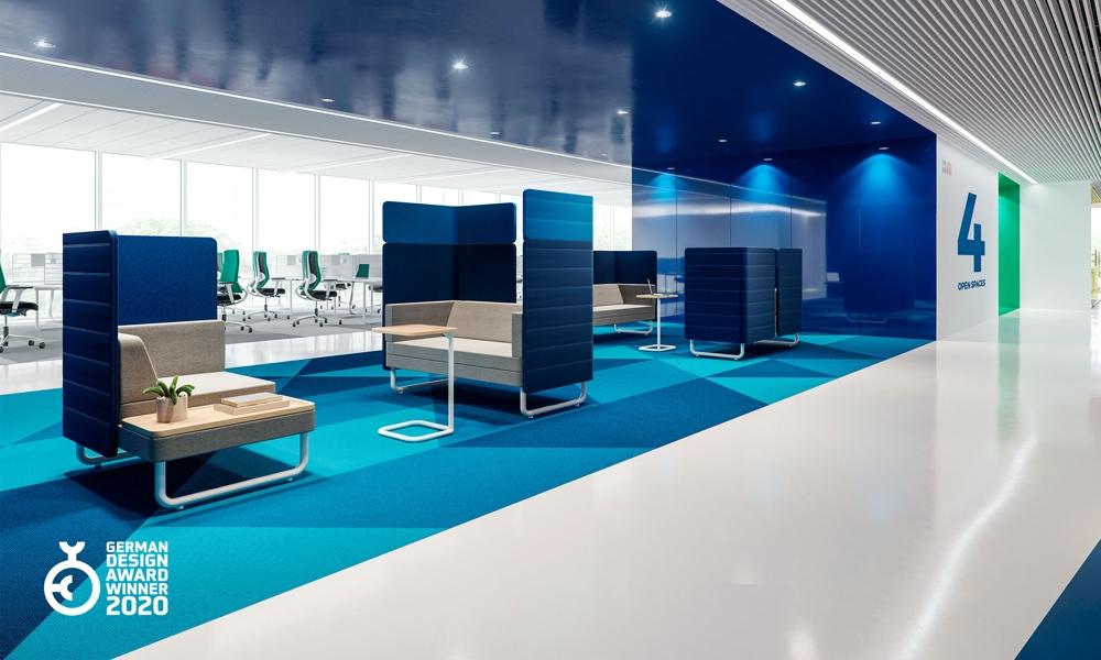 Play&Work Soft Seating steht für modernes, zeitgemäßes Design. Abbildung: Nowy Styl Group