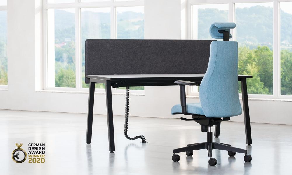 Das Tischsystem CS5040 wird dem Anspruch an Qualität, Funktionalität, Ergonomie und Ästhetik gerecht. Abbildung: Nowy Styl Group