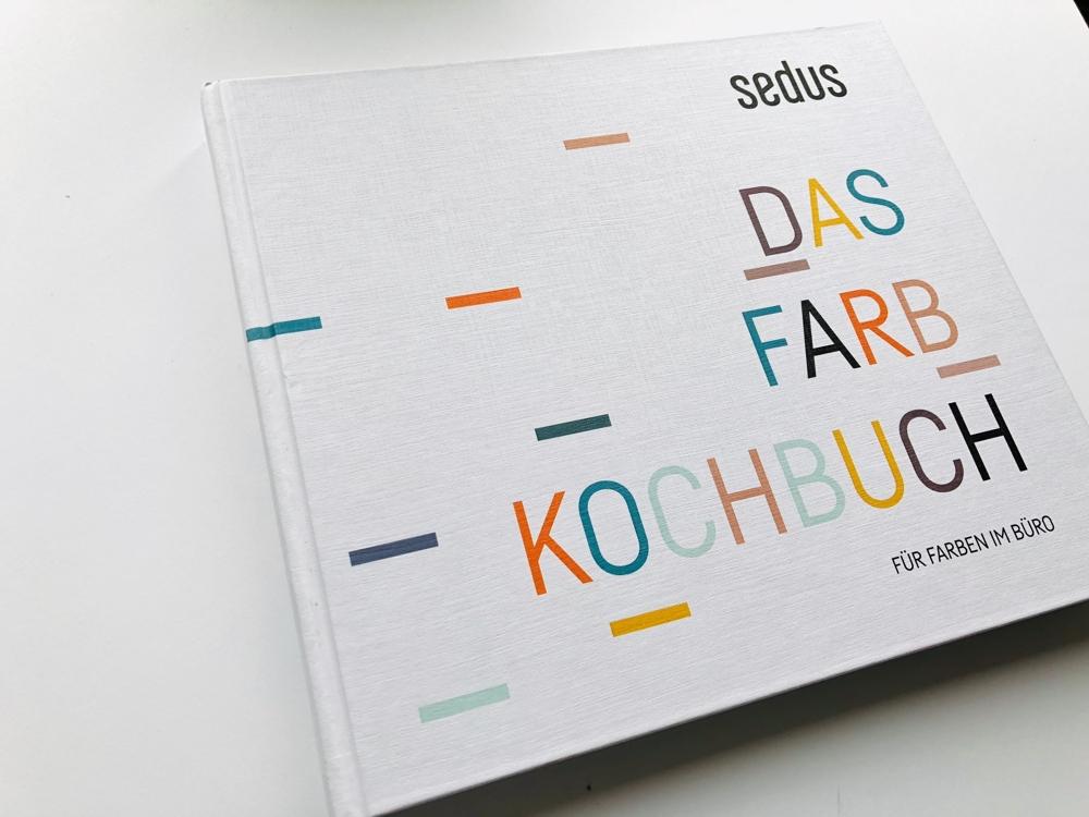 Das Farbkochbuch von Sedus für Büroplaner. Abbildung: Sedus