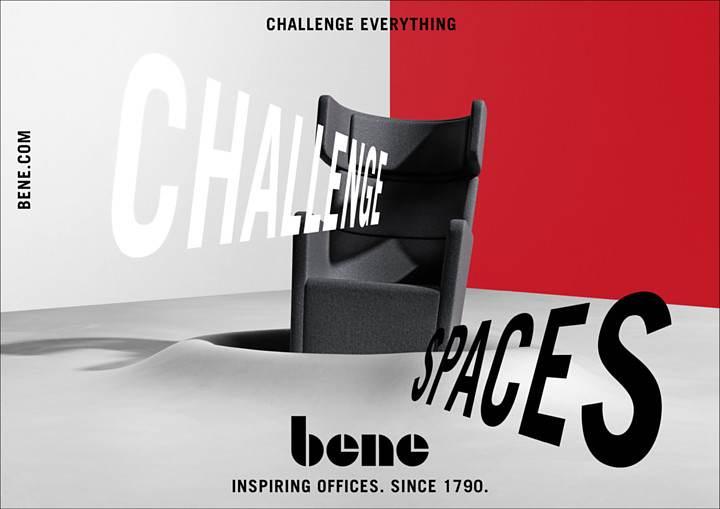 Bene: Neue Imagekampagne Challenge Everything