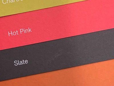 Die vier neuen Farbtöne des Colorplan-Sortiments. Abbildung: Römerturm