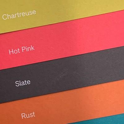 Die vier neuen Farbtöne der Colorplan-Serie. Abbildung: Römerturm