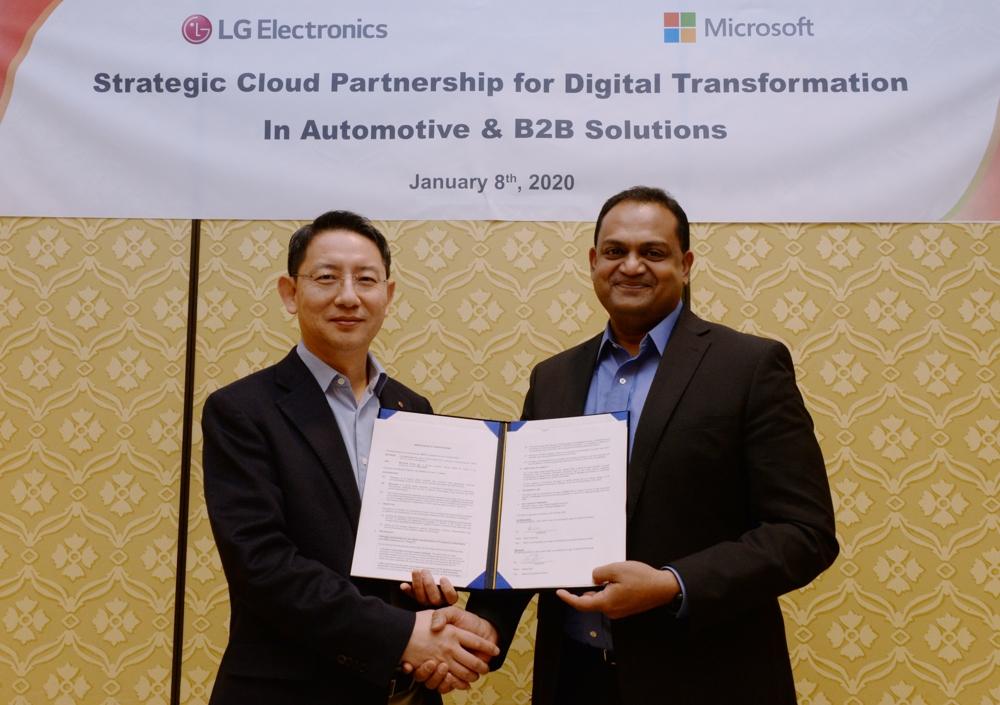 LG treibt B2B-Innovationen mit Microsoft voran