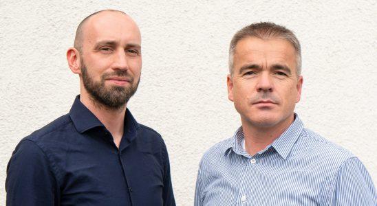 Gerald Wintersinger (l.) und Siegfried Hermann bilden das neue Führungsduo für das Geschäftsfeld der Macom-Managed-AV- & IT-Services.