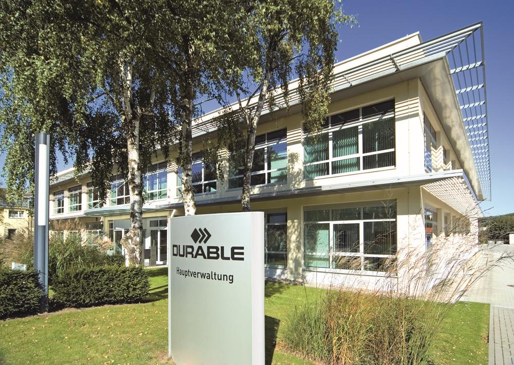 Die aktuelle Hauptverwaltung von Durable in Iserlohn. Abbildung: Durable