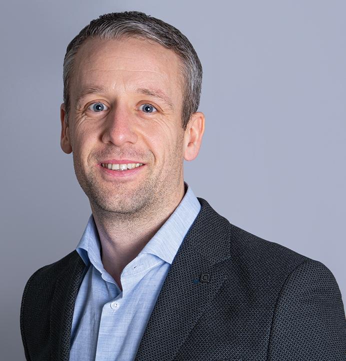 James Hargreaves ist seit 13. Januar European Operations Director bei Fellowes. Abbildung: Fellowes