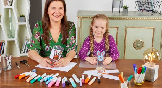 Die Pintor-Kampagne möchte zum Basteln mit Kindern anregen. Abbildung: Pilot
