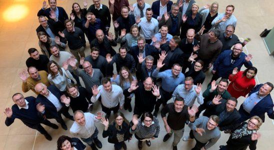"""Die Mitglieder des neu geschaffenen Kompetenznetzwerks """"wir sind raum"""". Abbildung: Soennecken"""