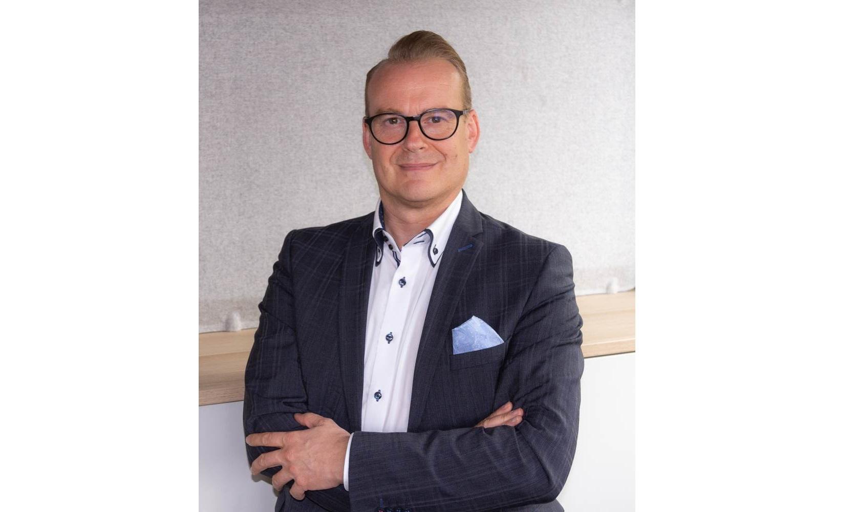 Klaus Schalk ist neuer Kinnarps-Geschäftsführer