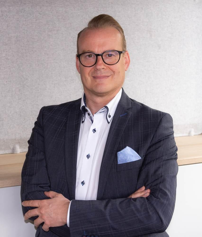 Der neue Geschäftsführer der Kinnarps GmbH: Klaus Schalk. Abbildung: Kinnarps