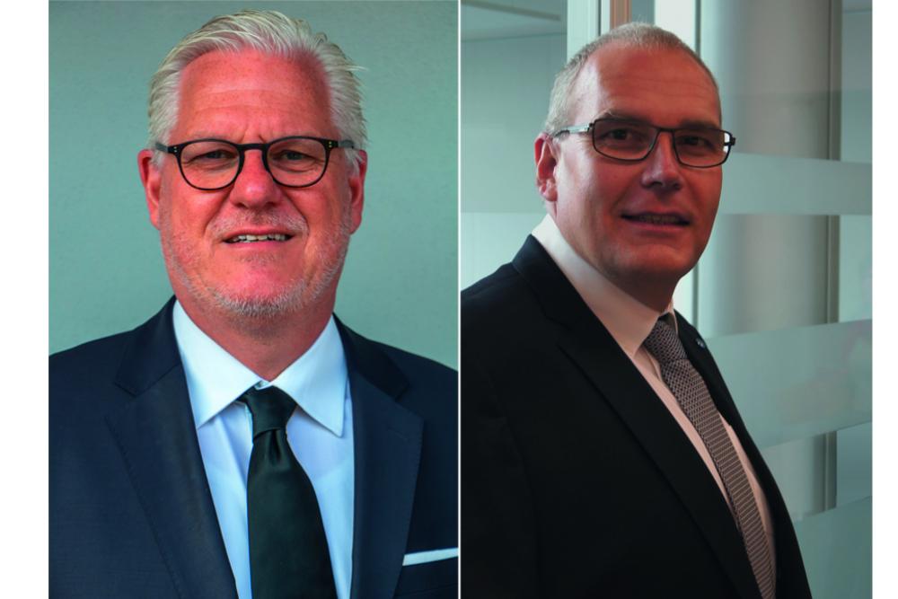 Büroring mit neuem Vorstand und neuem Leiter Mitgliederbetreuung