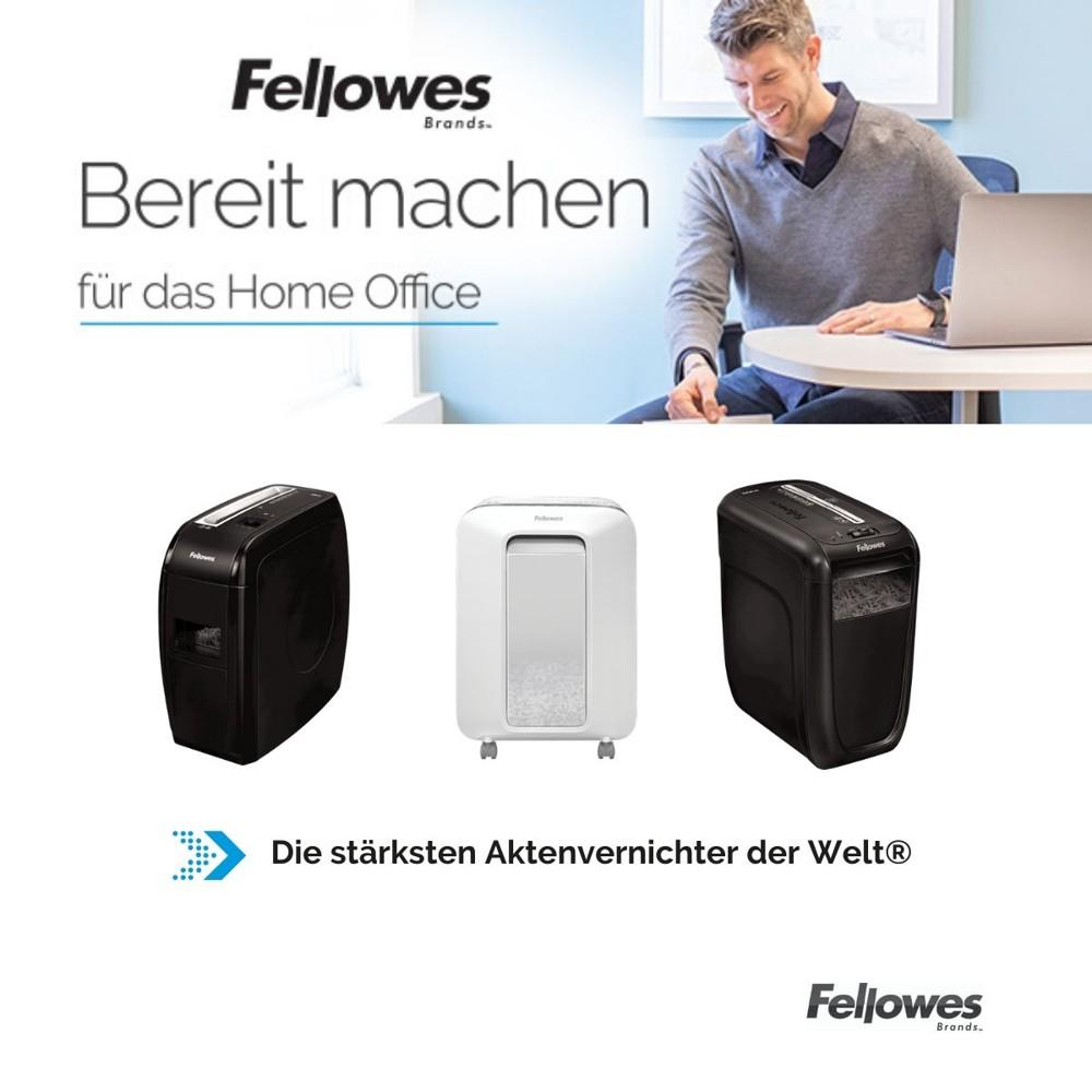Fellowes Aktenvernichter für das Home Office.