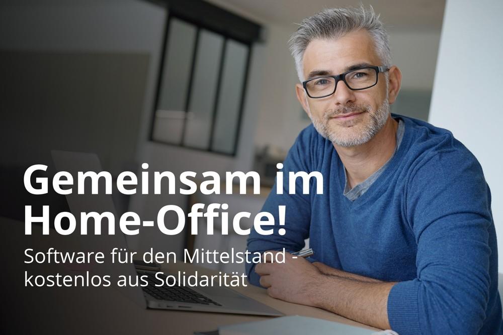 Home-Office-Software kostenlos: Solidaritätsaktion von Scopevisio
