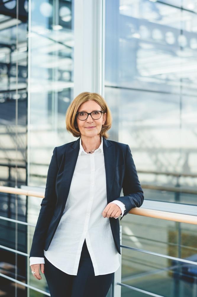 Beate Oblau, Geschäftsführerin der C. Josef Lamy GmbH. Abbildung: Lamy