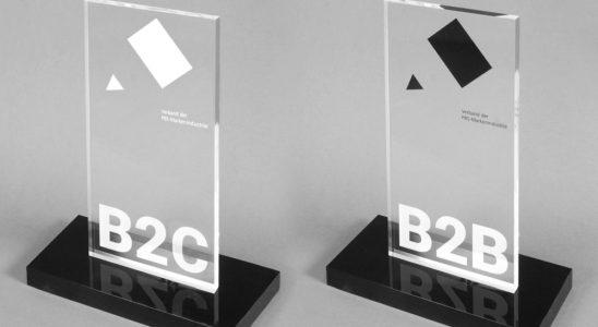 Die Auszeichnung Produkt des Jahres 2020 wird in den Kategorien B2B und B2C vergeben. Abbildung: Verband der PBS-Markenindustrie