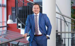 Zufrieden mit der strategischen Allianz der beiden Unternehmen: Kyocera-Geschäftsführer Dietmar Nick. Abbildung: Kyocera