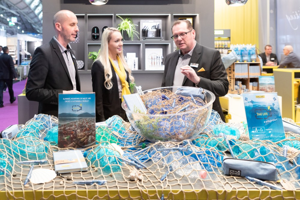 Sustainability Top-Thema der Paperworld 2021