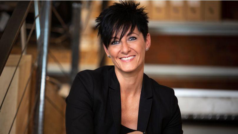 Anke Mai, Geschäftsführerin der PlanObjekt GmbH, hat den ADELIE-Award 2020 erhalten. Abbildung: Screenshot