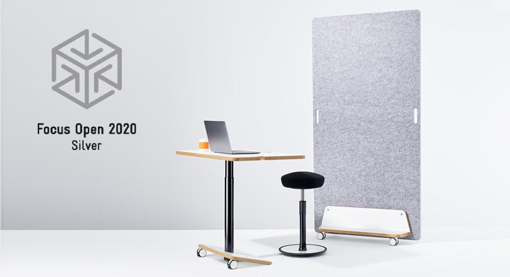 Das Pop-Up-Office von ONGO ist mit dem Focus-Open-Award 2020 in Silber ausgezeichnet worden. Abbildung: ONGO