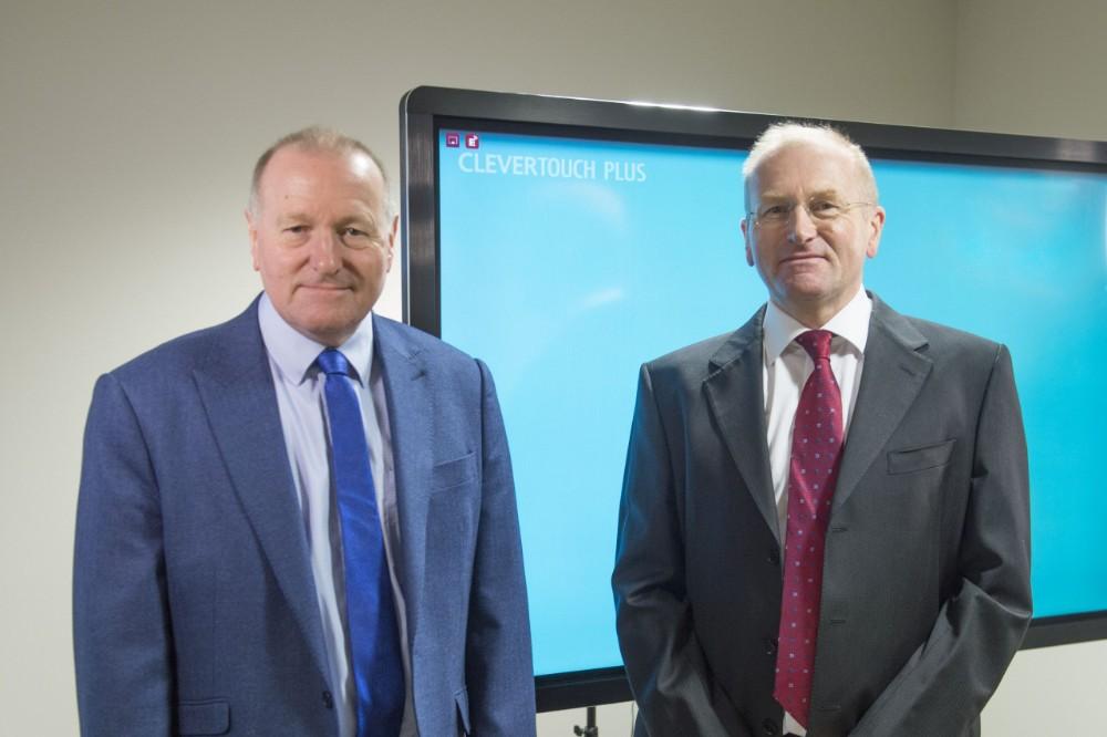 Die beiden Gründer von Sahara: Kevin Batley (li.) und Nigel Batley. Abbildung: Sahara