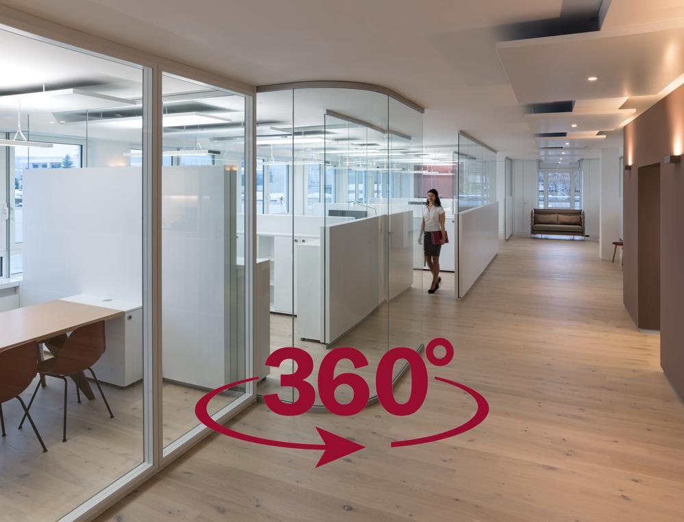 Strähle lädt zum 360-Grad-Rundgang ein. Abbildung: Strähle