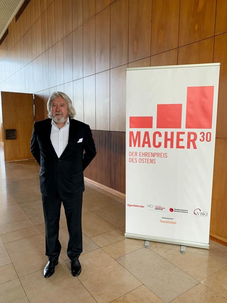 Geschäftsführer von Palmberg erhält Auszeichnung