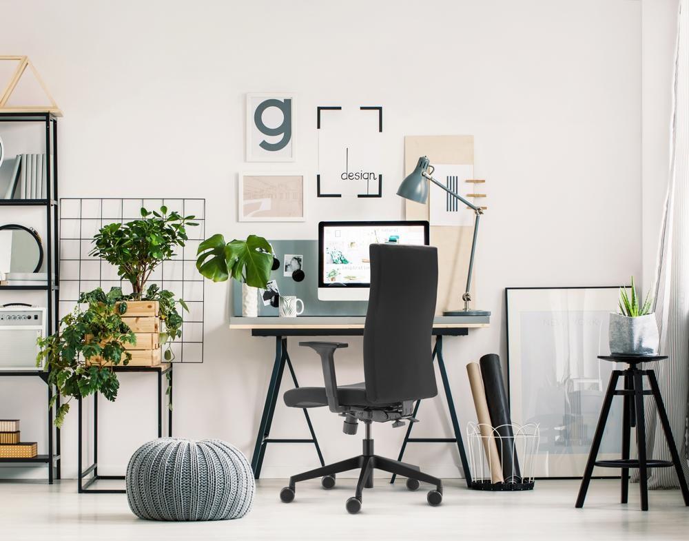 Der Bürodrehstuhl to-strike comfort von Trendoffice verspricht ergonomisches Arbeiten im Homeoffice. Abbildung: Dauphin HumanDesign Group
