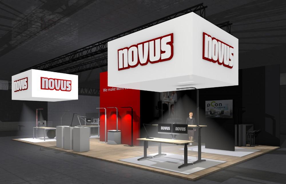 Novus zeigt Produktneuheiten auf digitalem Messestand