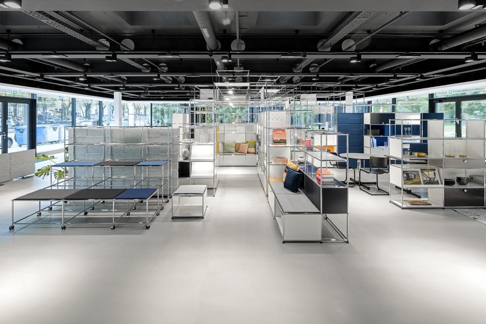 USM eröffnet neuen Showroom in Hamburg