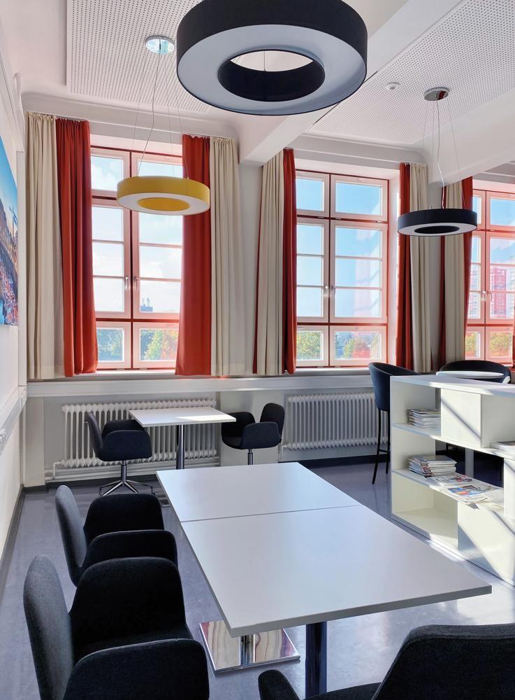 Coworking-Bereich oder Platz für persönliche Gespräche. Abbildung: SMV