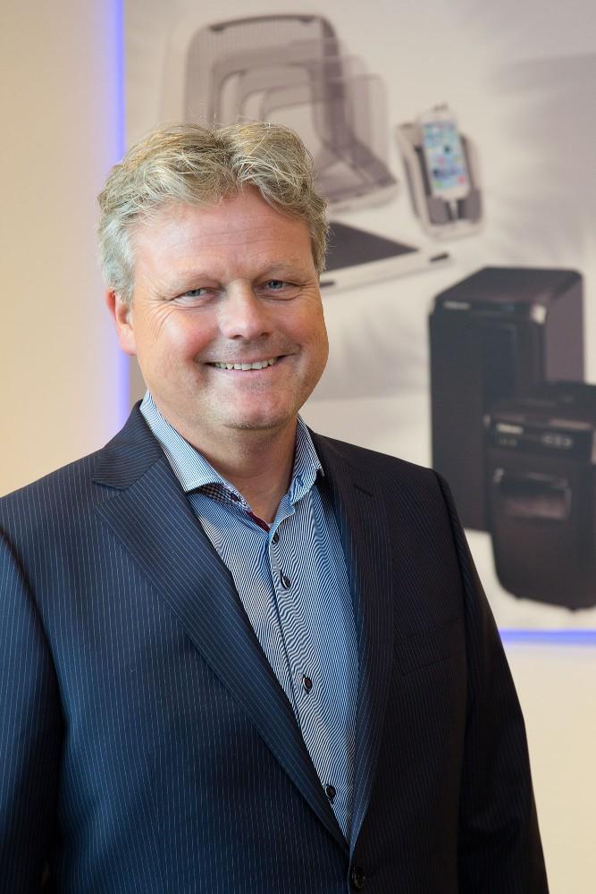 Hajo Hoekstra, Geschäftsführer, Director DACH/BLX/Scandinavia, Fellowes GmbH.