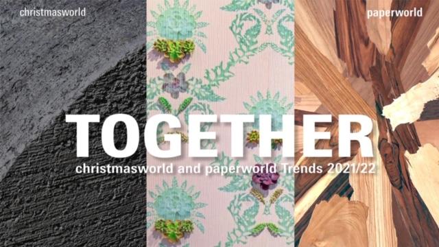 Paperworld und Chrismasworld Trends 2021/22