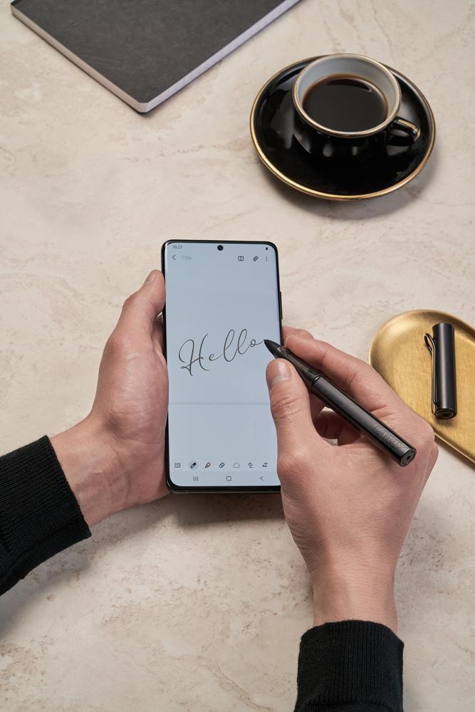 Lamy baut Zusammenarbeit mit Samsung aus