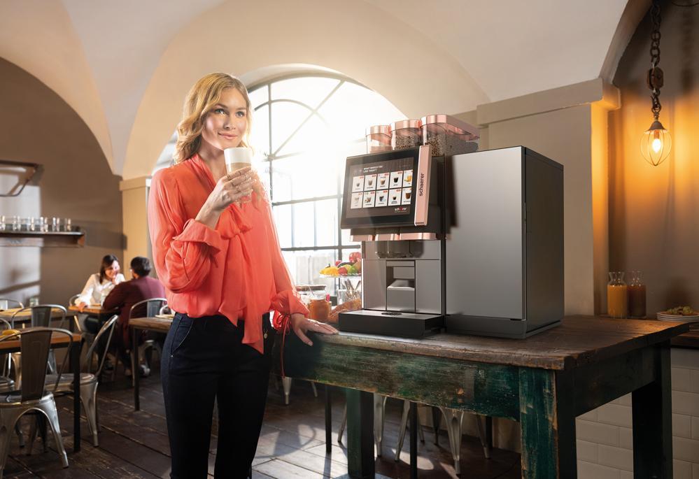 Die Schaerer Coffee Soul 12 wird auf der virtuellen Internorga präsentiert. Abbildung: Schaerer