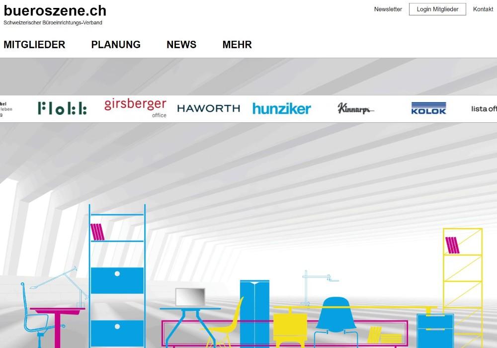 Umsatzzahlen der schweizerischen Büromöbelbranche 2020