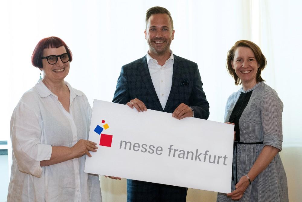 Zwei Generationen: Nicolette Naumann, Philipp Ferger und Julia Uherek