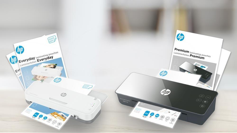 Neben den Laminiergeräten für Profis und private Anwender bietet GO Europe auch das entsprechende Zubehör an. Abbildung: GO Europe