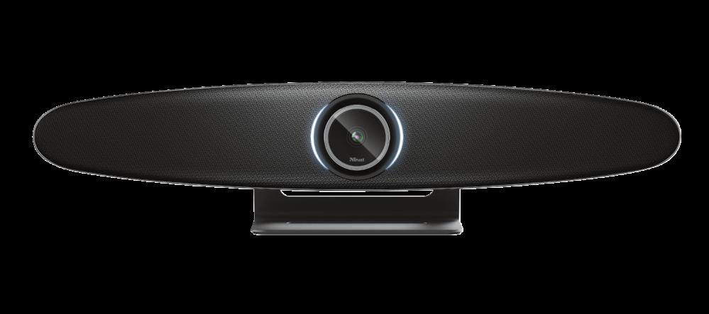 Dank Plug-and-play ist die All-in-one-Videokonferenzlösung IRIS in wenigen Minuten einsatzbereit. Abbildung: Trust