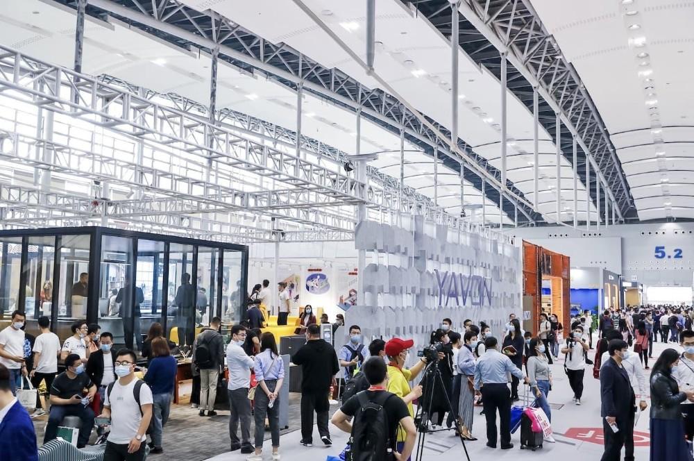 Über 350.000 Besucher strömten Ende März auf das Messegelände in Shanghai. Abbildung: CIFF Shanghai