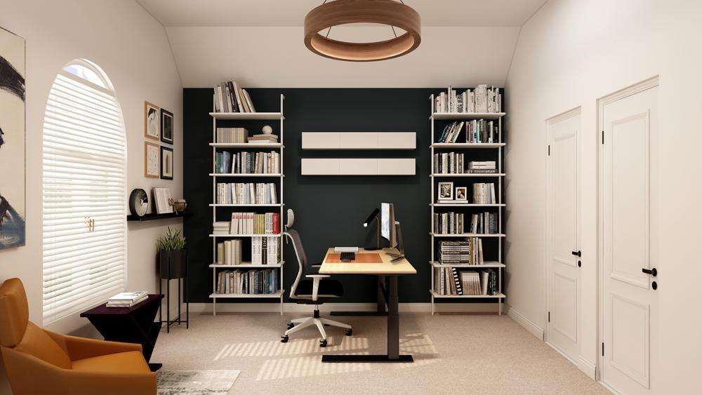 Für eine zeitlich begrenzte und hochwertige Ausstattung des Homeoffice bieten sich Mietlösungen an. Abbildung: Collov Home Design, Unsplash