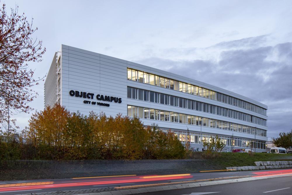 Object Campus: ein Ort für Wissenstransfer und Networking. Abbildung: Markus Guhl Fotografie