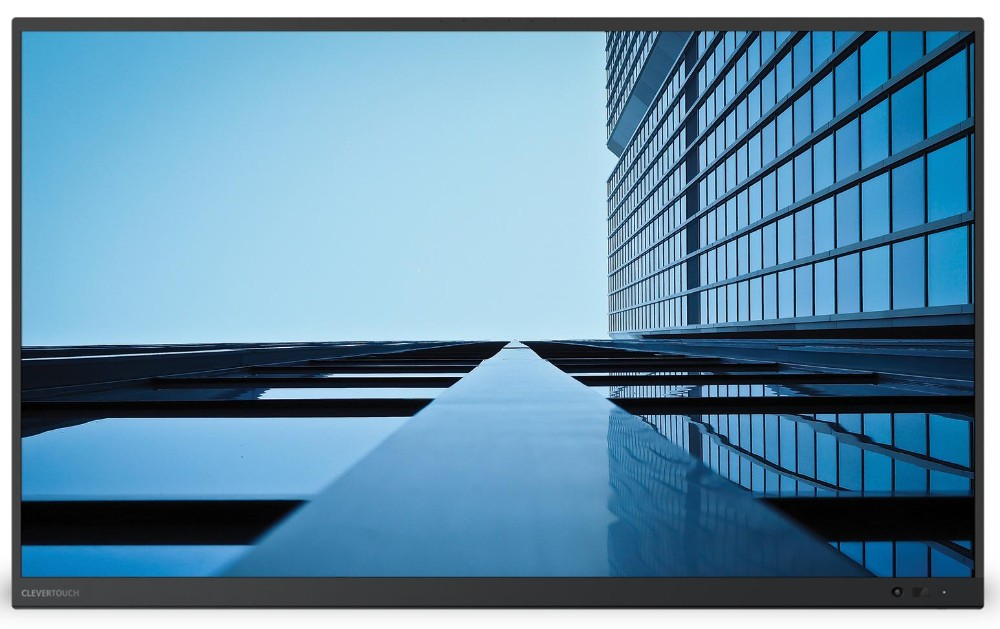 Interaktive Großformat-Displays der Serie UX Pro. Abbildung: Clevertouch